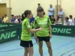 2. Heimspiel vs. Busenbach - Sandy Knobloch / Nicole Delle (v. l.)