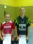 Lara u.Sebastian U15 Einzel 3.Platz