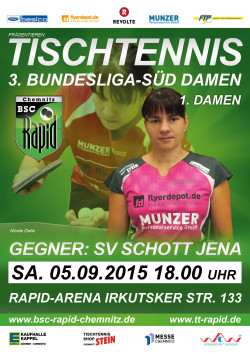 1.Damen 1HS_2015_16 vs Jena
